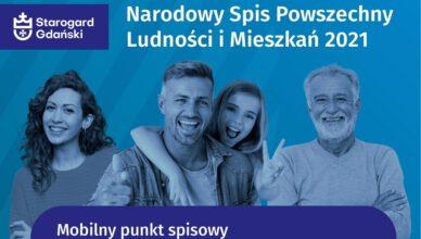 Policzmy się. Mobilny Punkt Spisowy w Starogardzie Gdańskim