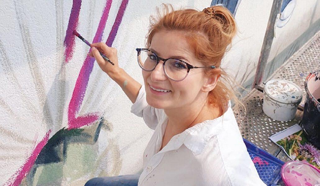 Daj Dziecku Siłę. W Starogardzie powstaje nowy mural