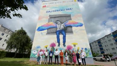 Mamy w Starogardzie kolejny mural